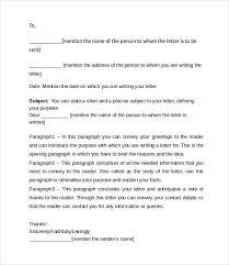 Friendly Letter Format Sample Friendly Letter Format 7 Documents In Pdf Word