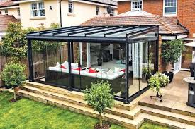 glass room glass rooms are available with sliding doors or concertina style doors both of which glass room