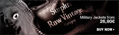 Surplus Raw Vintage Home Page Exclusively Presented By