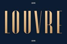 Louvre - A Classic Display Font - iFonts.xyz