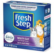 <b>Fresh Step</b> Multi-<b>Cat</b> Scented Clumping Clay <b>Cat</b> Litter (Free Shipping)