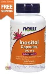 <b>Inositol Capsules 500 mg</b> 100 caps | Womens health, Health, Health ...