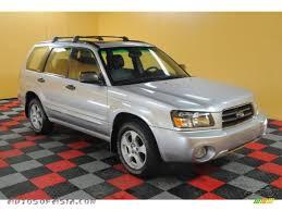 2004 Subaru Forester 2.5 XS in Platinum Silver Metallic - 732123 ...