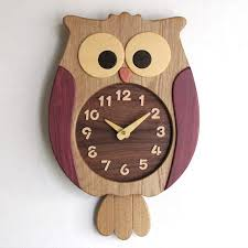 owl clock owl decor