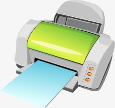 Fax Machine Hand Painted Cartoon Electric Png And Vector For Free