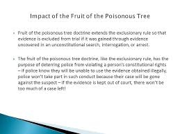 LS100 Eight Skills Prof Jane McElligott  A Miranda Warning Is Fruit Of Poisonous Tree Doctrine Definition