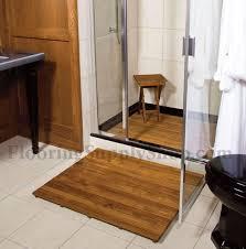 teak shower mat36