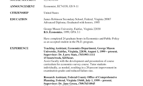 Resume Resume Examples Sample Resume For Government Jobs Quick