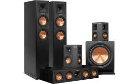 klipsch thx speakers. klipsch rp-250 5.1 home theater speaker system a complete high-performance thx speakers p