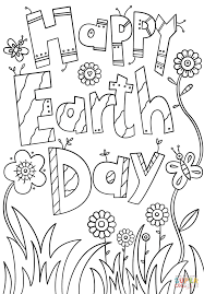Small Picture Happy Earth Day coloring page Free Printable Coloring Pages