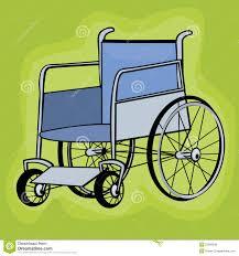 Clip Art Wheelchair Stock Vector Image Of Retirement 22095939