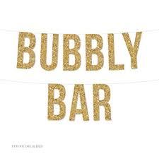 Andaz Press Real <b>Glitter Paper</b> Pennant Hanging <b>Banner</b>, Bubbly ...