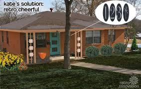 exterior paint colors with brickRetro Design Dilemma  Paint colors for Lauries 1966 brick ranch