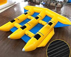 Amazon.com : JYNselling 6 Person/Seat <b>Inflatable</b> Banana Boat Raft ...
