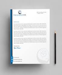 Tinci Designs Elegant Playful Human Resource Letterhead Design For A