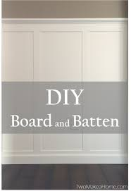 diy board and batten front entry