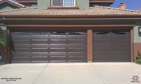 brown garage doors with windows. Brown Garage Doors With Windows And Custom Door Thousand I
