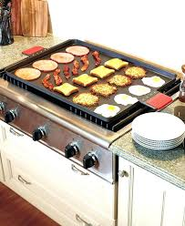 cast iron skillet on glass cooktop flat top griddle stove cast iron skillet use on glass