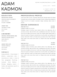 Free Resume Templates For Mac Word Resume Template Mac Best Of