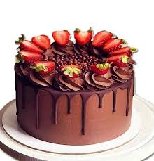 Chocolate Strawberry Cake 15kg Nethusara
