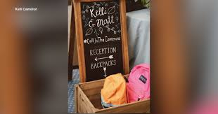 Tampa teacher asks for backpacks full of school supplies instead of wedding  gifts