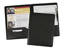 resume folio amazon com leather resume portfolio presentation folder document