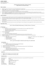 Example Of Accounting Resume Custom Sample Career Objectives For Accounting Resumes Amazing Finance