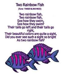 the rainbow fish song at the virtual vine