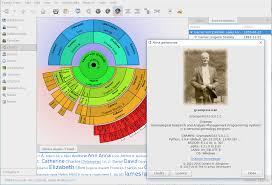 Family Tree Maker Fan Chart Gramps Wikipedia