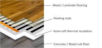 Awesome Underfloor Heating Laminate Flooring Exquisite With Floor Good Ideas