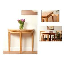 half round dining tables half moon dining table dining room tables with leaves