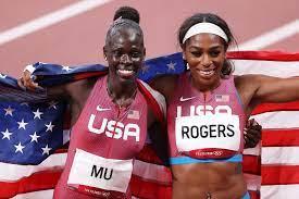 Athing Mu, American teen, wins gold in 800m