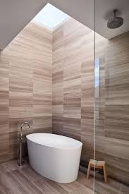 bathroom tile idea use the same tile on the floors and the walls the