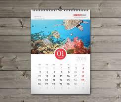 Calender Design Template Print Production Indesign Template For Calendar Printing Graphic