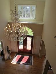 furniture attractive entryway chandelier
