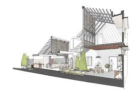 architectural drawings.  Architectural Courtesy Of ADstudio Inside Architectural Drawings