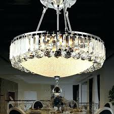 rectangular chandelier with linen shade large size of