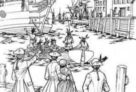 Small Picture Boston Tea Party Coloring Page Free Download