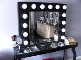 diy makeup vanity mirror with lights. diy hollywood-style vanity: mini tour \u0026 what i used to build it diy makeup vanity mirror with lights o