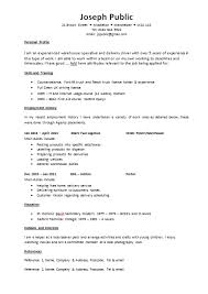 example of good cv layout cv templates the lighthouse project