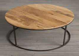 Amazing Coffee Table:Reclaimed Wood Round Coffee Round Wood Veneer Coffee Table  Table Wood Round Coffee Nice Design