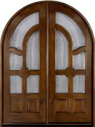Classic Series Mahogany Solid Wood Front Entry Door - Double - GD-006 DD