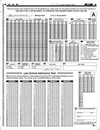 bubble in test sheet free lsat prep materials lessons lsat practice and lsat proctor
