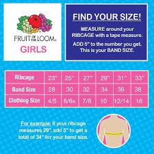 28 Right Pink Sports Bra Size Chart