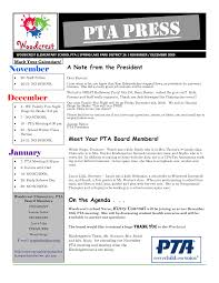 Free Pta Newsletter Templates Newsletters Etc Pto Today 20 Free