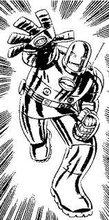 Disegno Da Colorare Iron Man 1