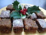 bavarian brownies  cake mix