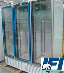 fgh72b reach in glass door freezer