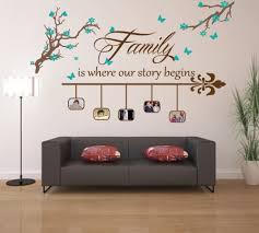 ... Begin Story Family Room Wall Art Perfect Inspiring Modern Designing  Interior Living Concept Decoration Sticker Photo ...