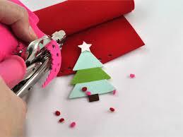 Felt Design Ideas 3 D Felt Christmas Tree Card Hgtv